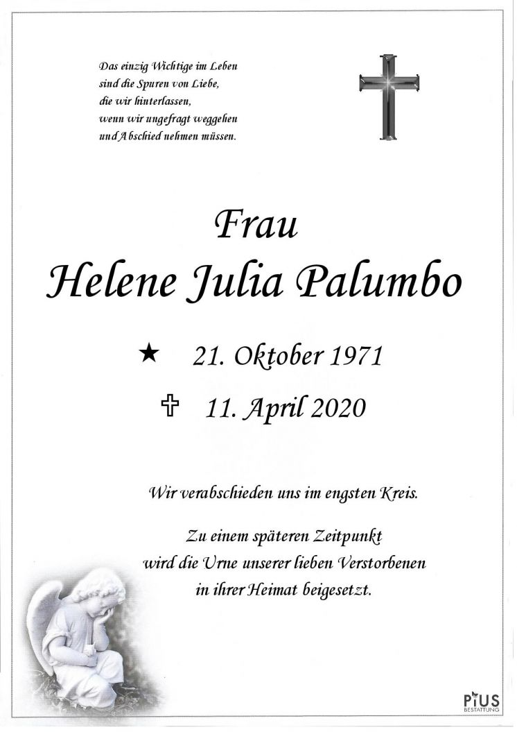 Helene Julia Palumbo