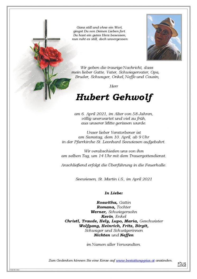 Hubert Gehwolf
